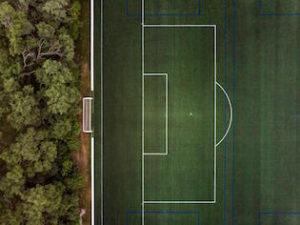 football terrain voyage
