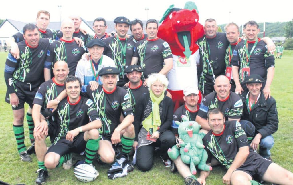 voyage rugby equipe veterans