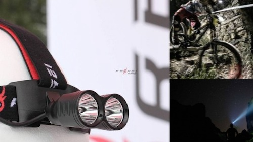lampes frontales et lampes vélo vtt